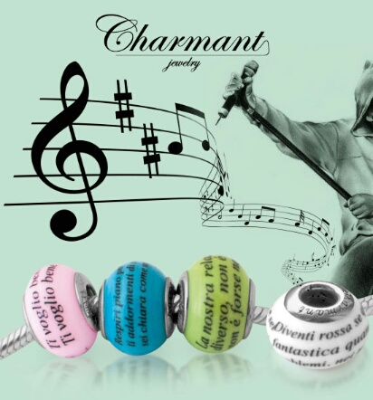 Nuove Music Beads Special Di V Rossi Charmant Jewelry